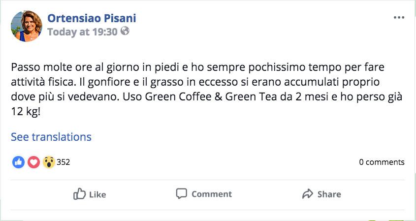 Integratore Green Cofee & Green Tea Plus Opinioni